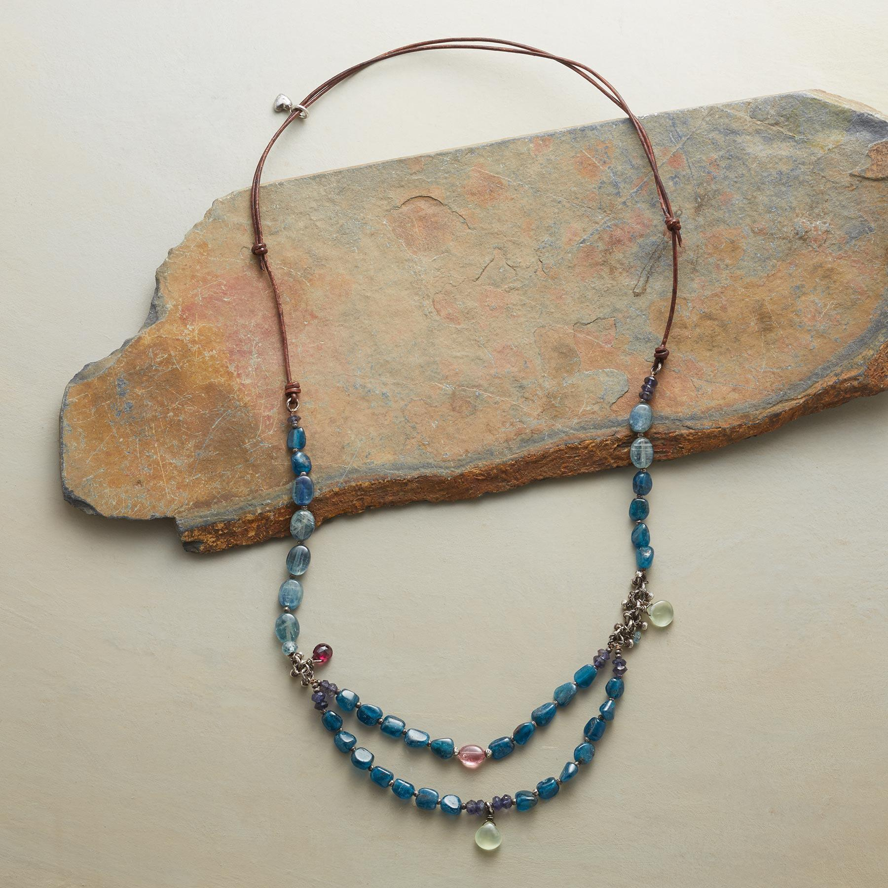 AEGEAN BLUES NECKLACE: View 2
