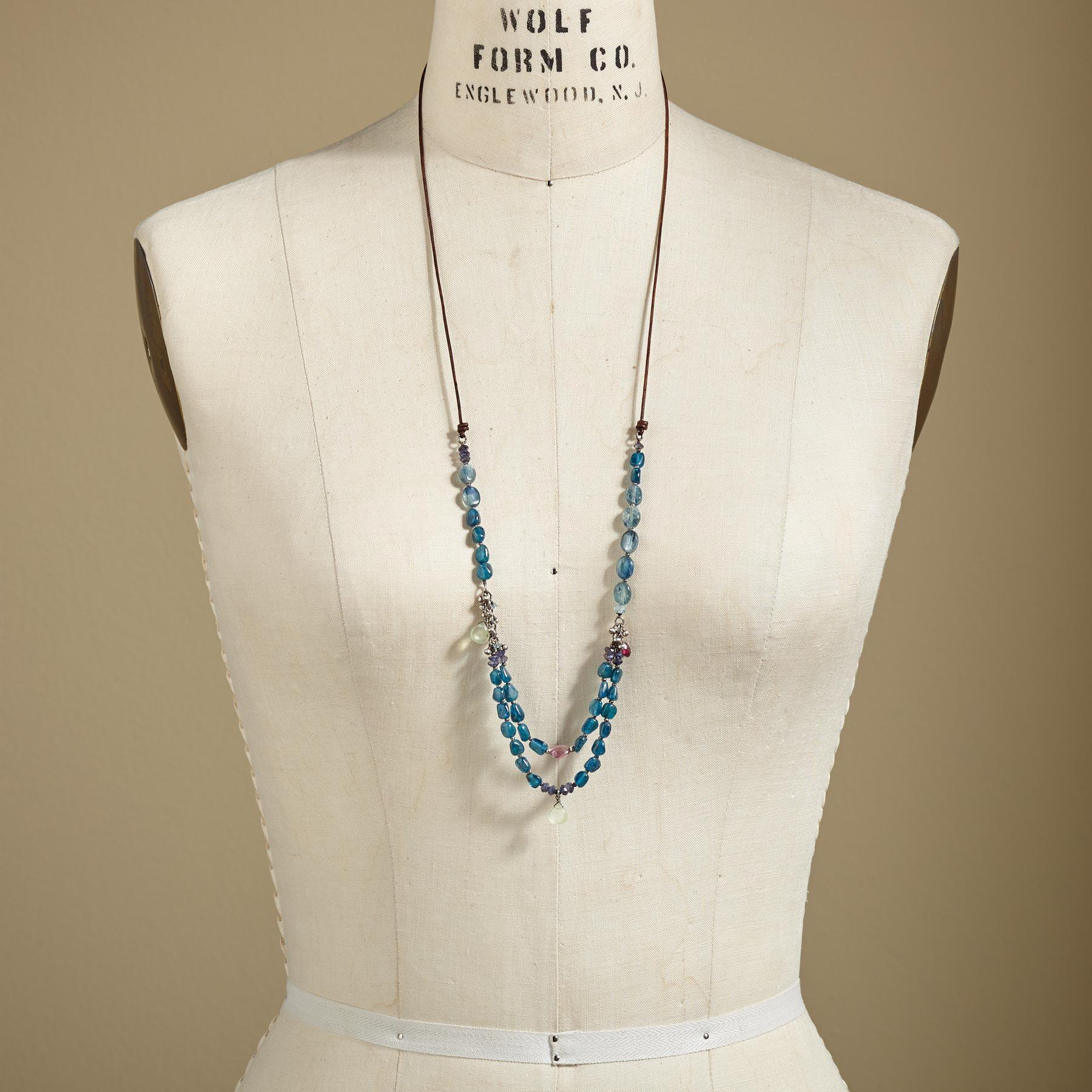 AEGEAN BLUES NECKLACE: View 4