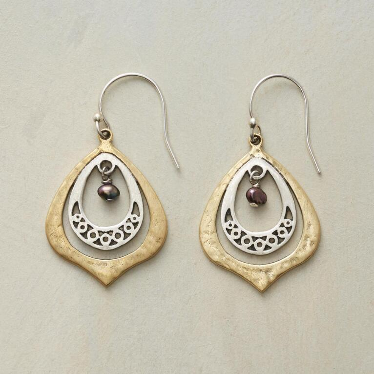 PEACOCK'S EYE EARRINGS