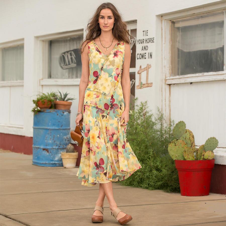 ORCHID SKY DRESS PETITE
