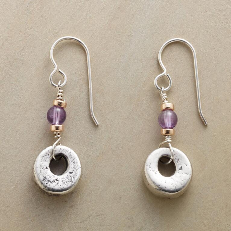 TOUCH OF VIOLET EARRINGS