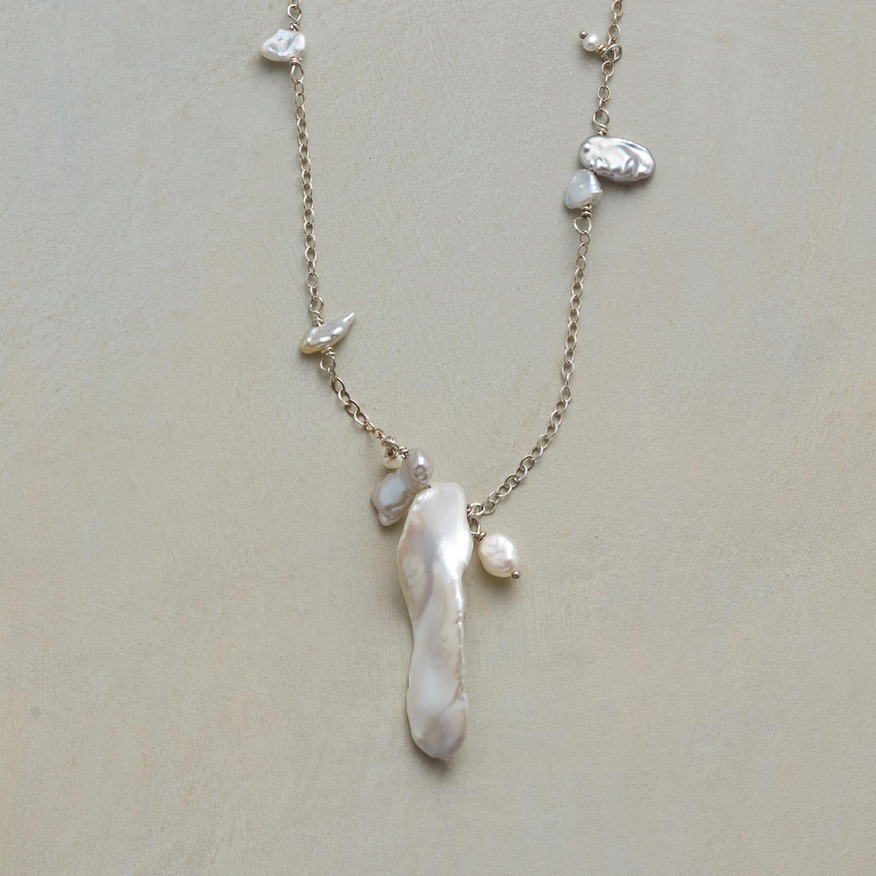PEARL PANDEMONIUM NECKLACE: View 1