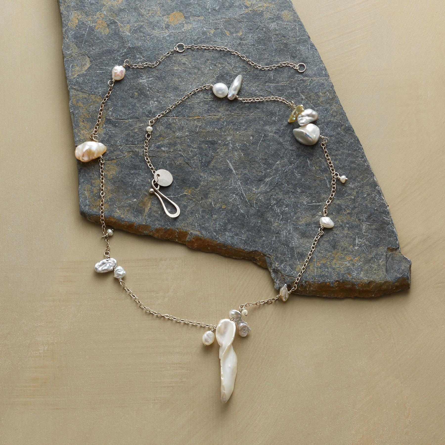 PEARL PANDEMONIUM NECKLACE: View 2