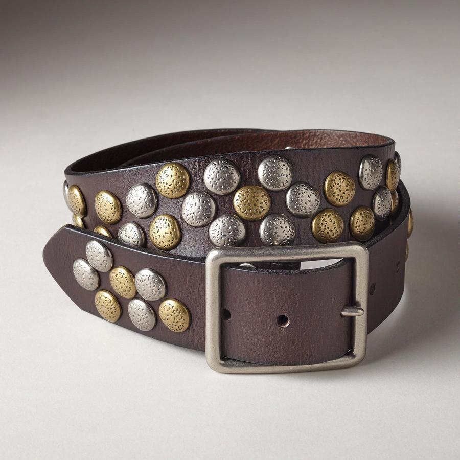 TWO-TONE PEBBLE PATH BELT
