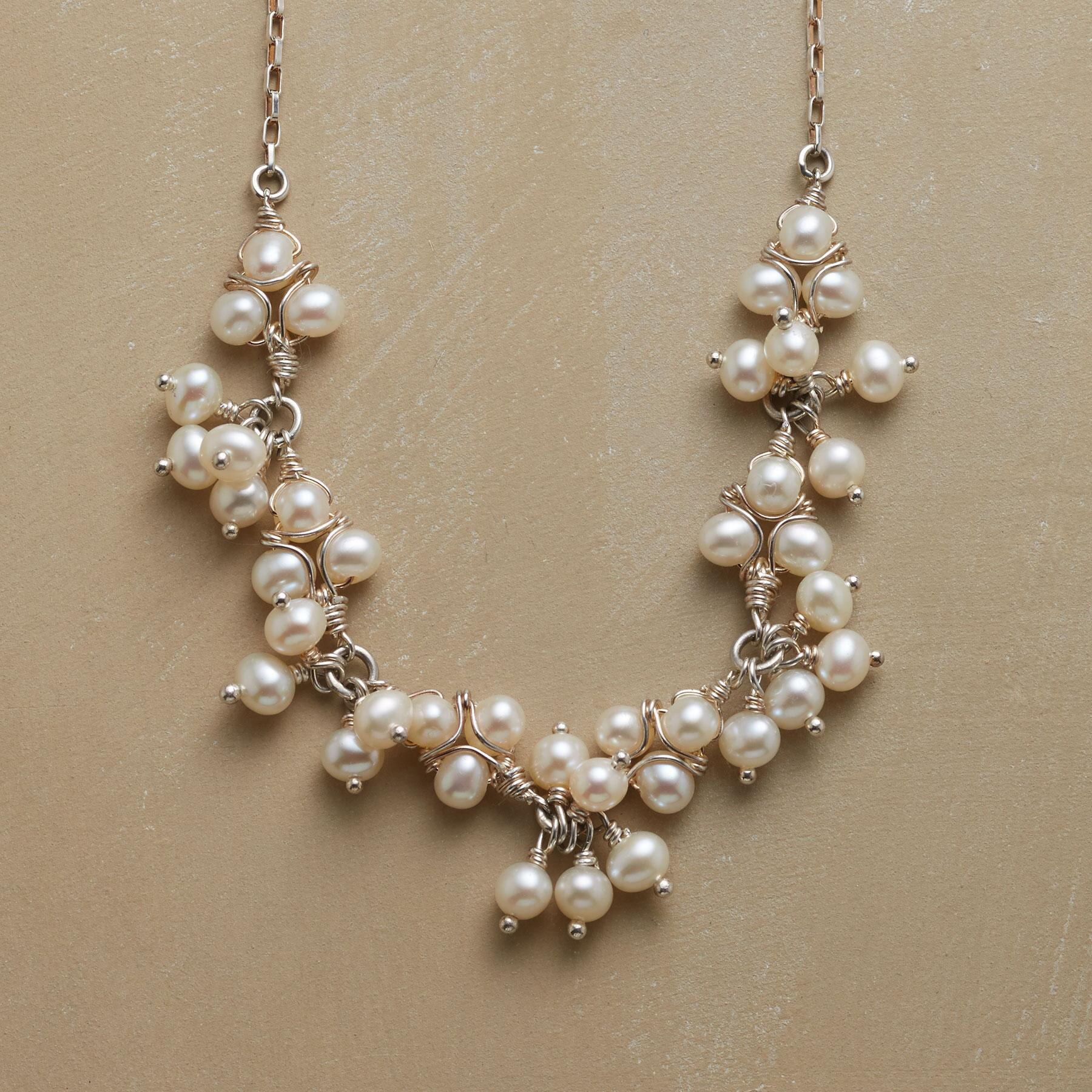 LACEMAKER'S PEARL NECKLACE: View 1