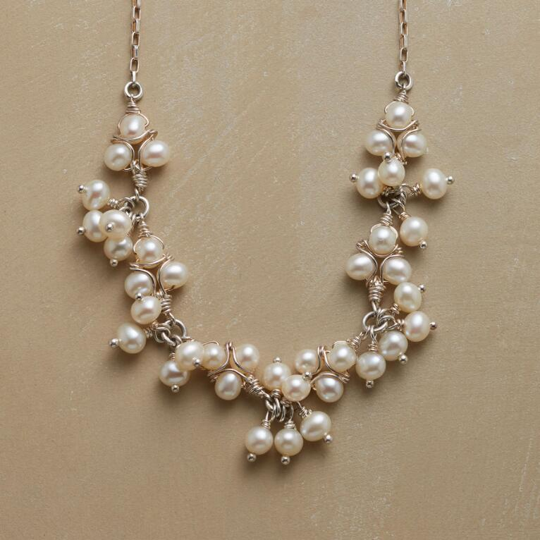 LACEMAKER'S PEARL NECKLACE