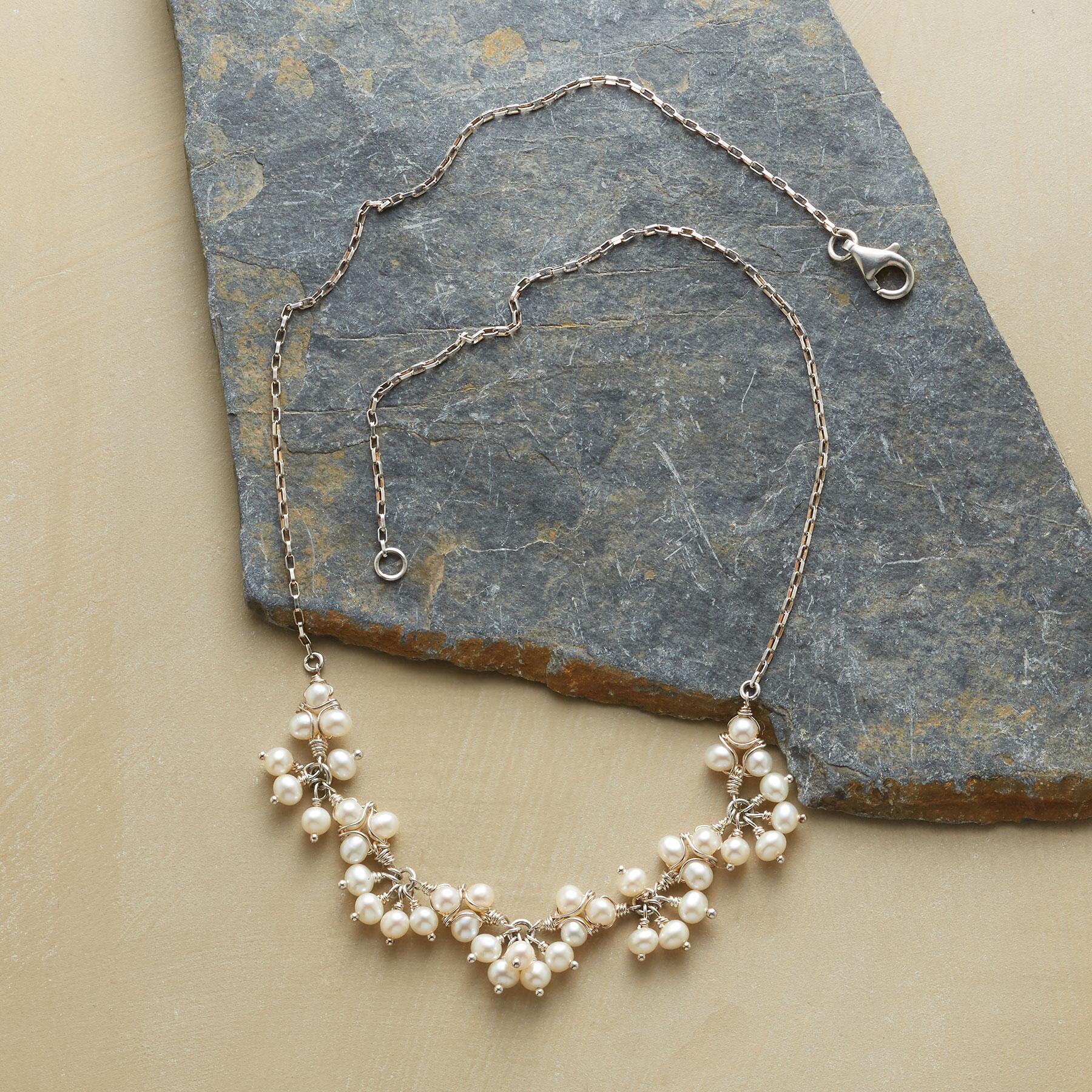 LACEMAKER'S PEARL NECKLACE: View 2