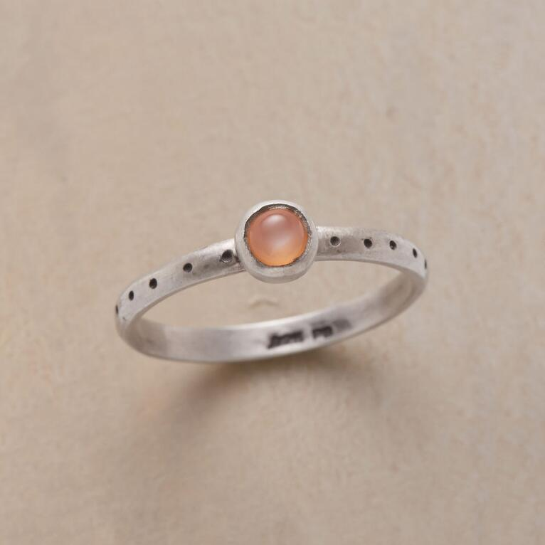 ORANGE DOLLOP RING