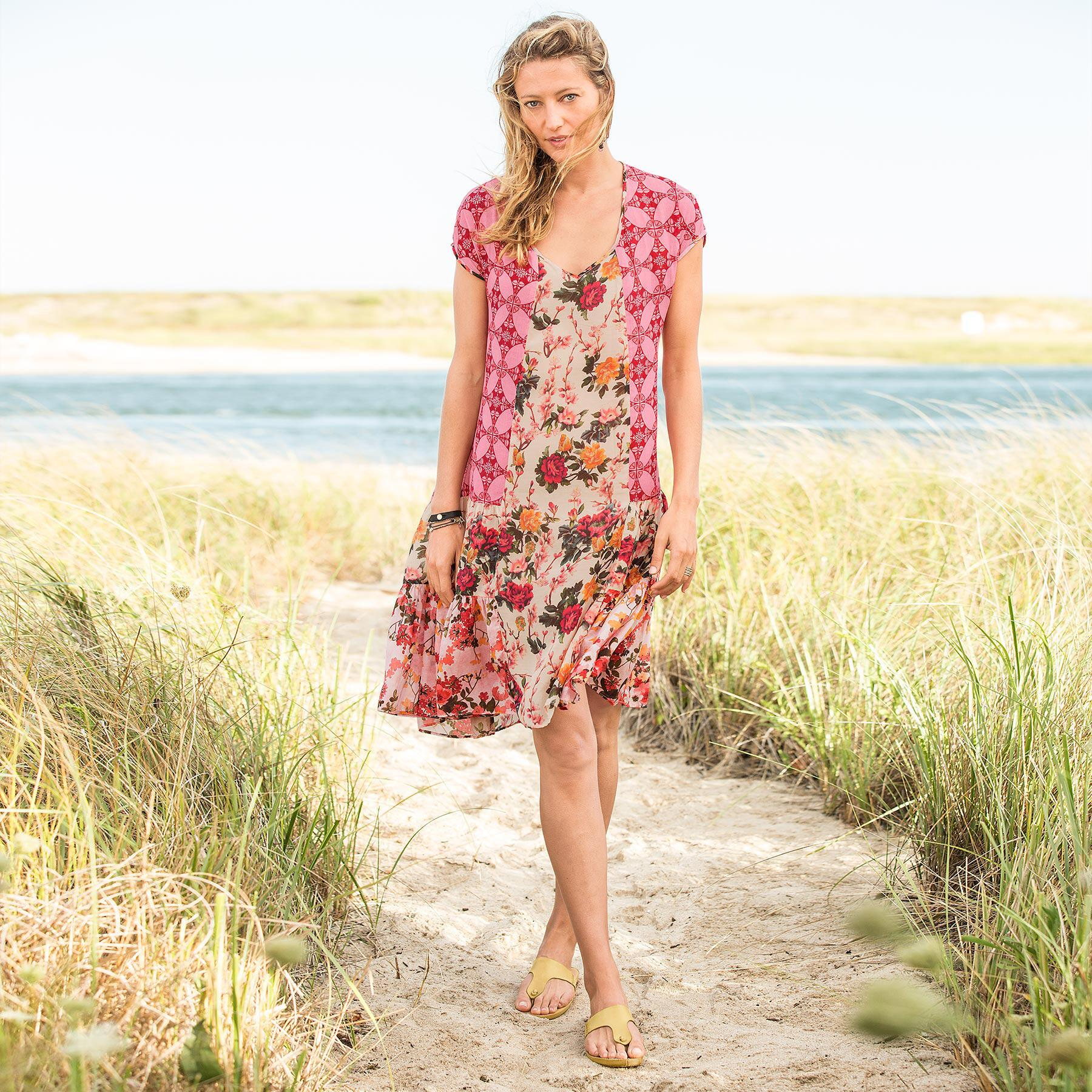WINDSWEPT ROSES DRESS: View 1