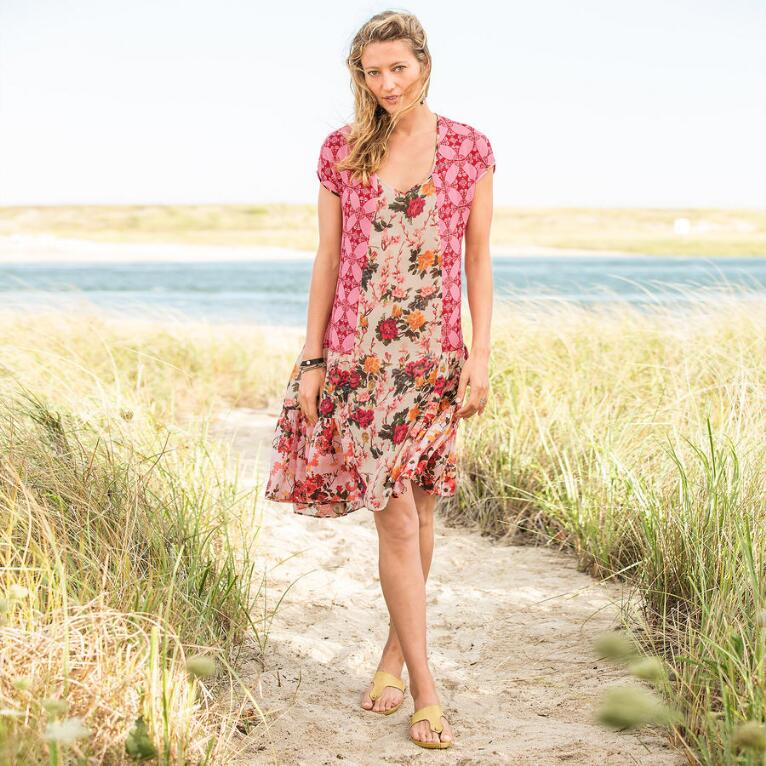 WINDSWEPT ROSES DRESS