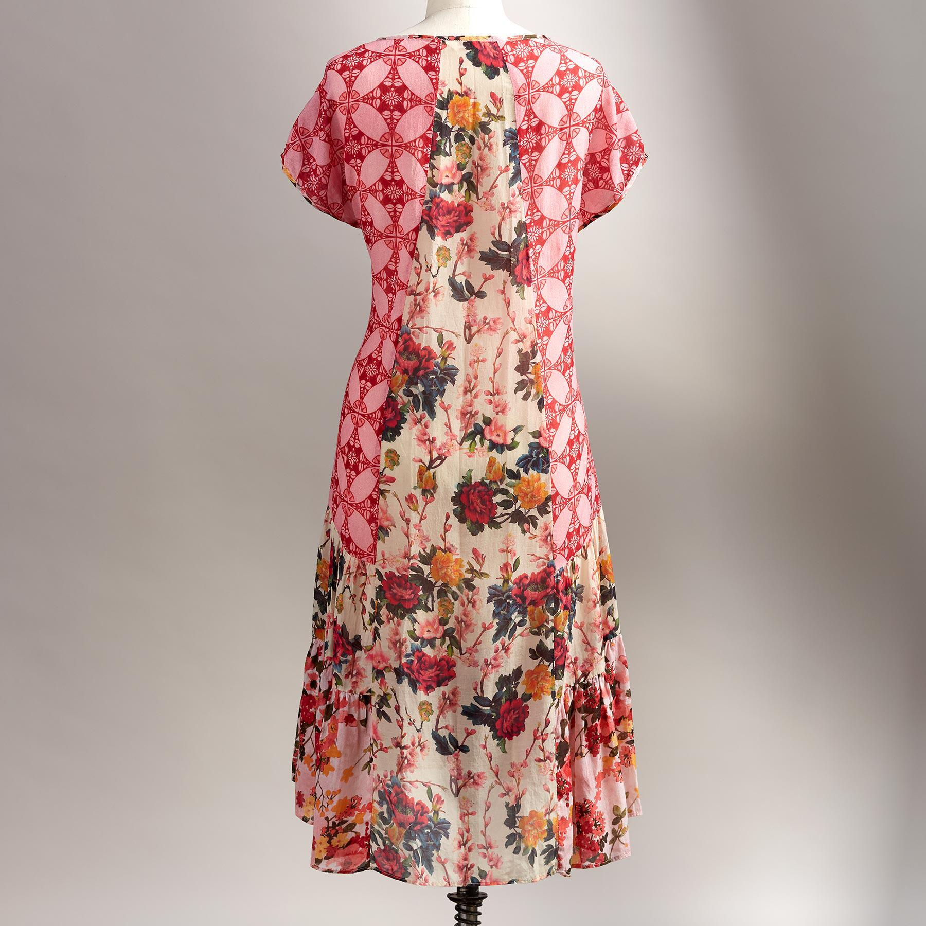WINDSWEPT ROSES DRESS: View 2