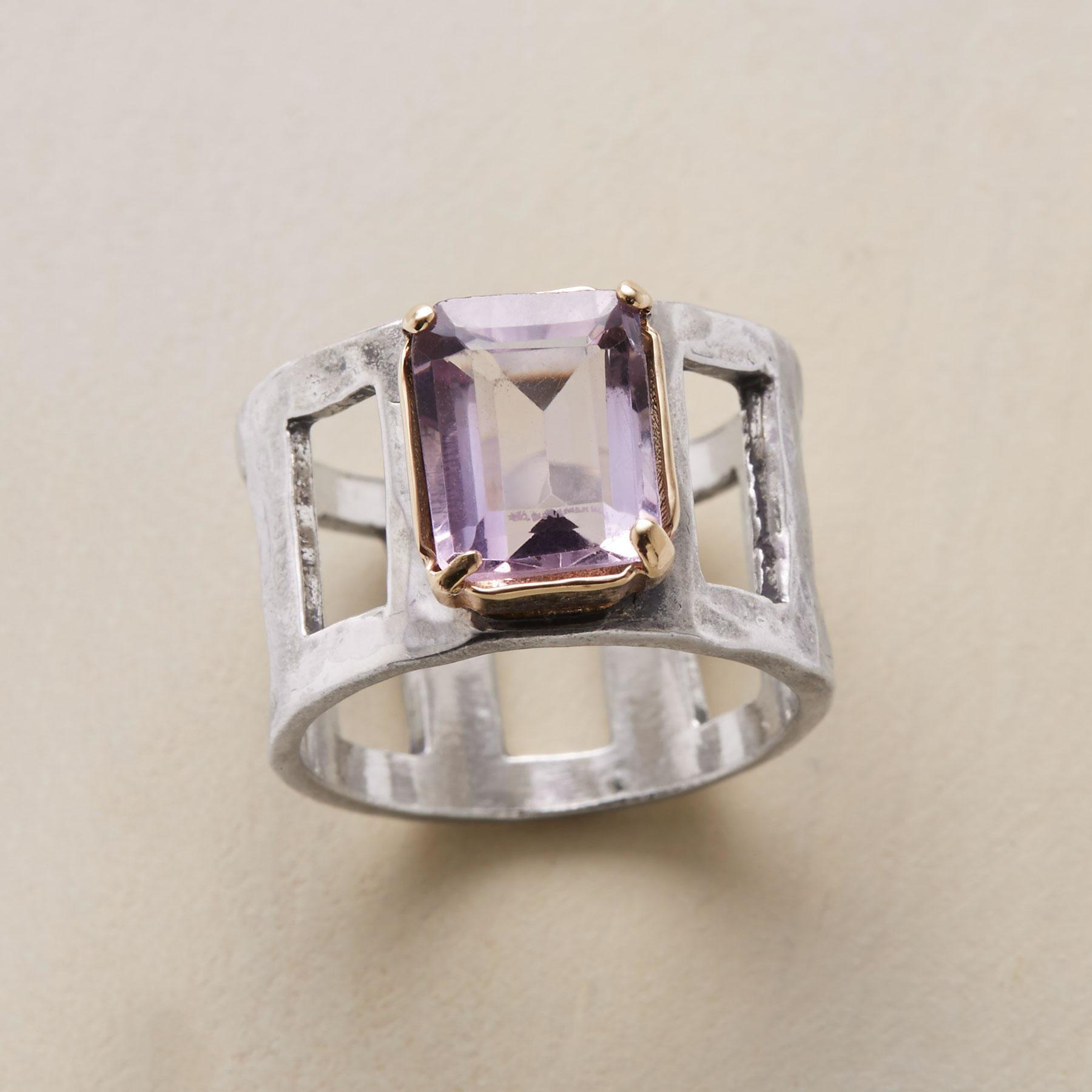 CLERESTORY AMETHYST RING: View 1