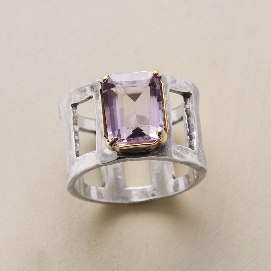 CLERESTORY AMETHYST RING