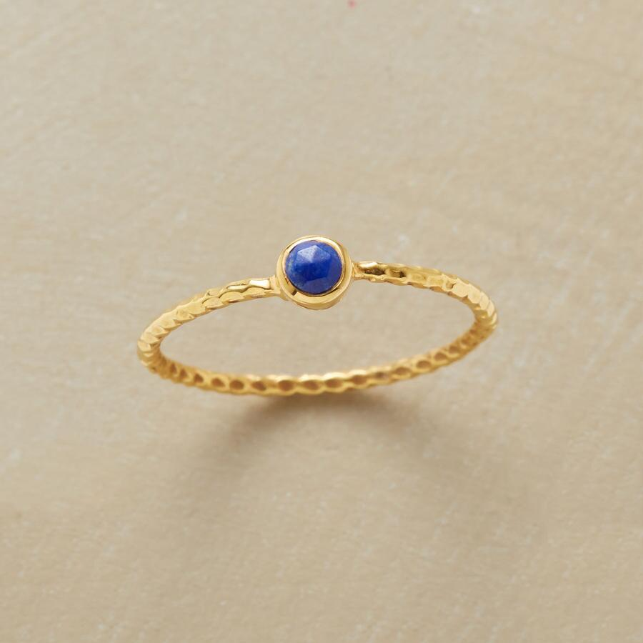 GEODESIC LAPIS RING