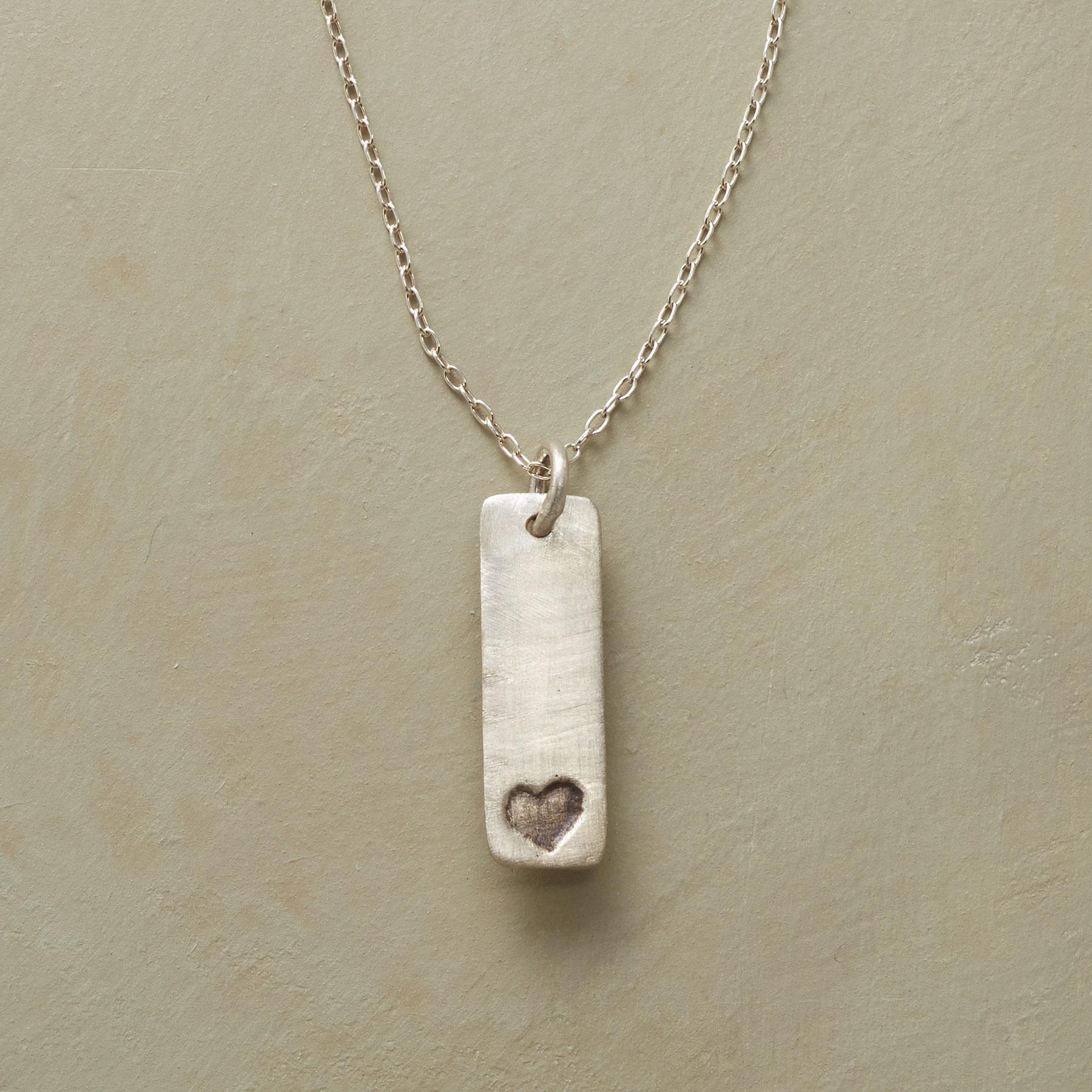TINY HEART, BIG LOVE NECKLACE: View 1