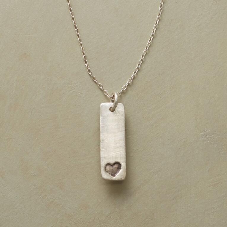 TINY HEART, BIG LOVE NECKLACE