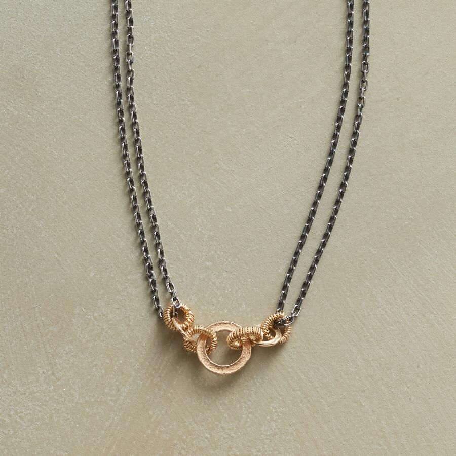 SEVEN RINGS NECKLACE