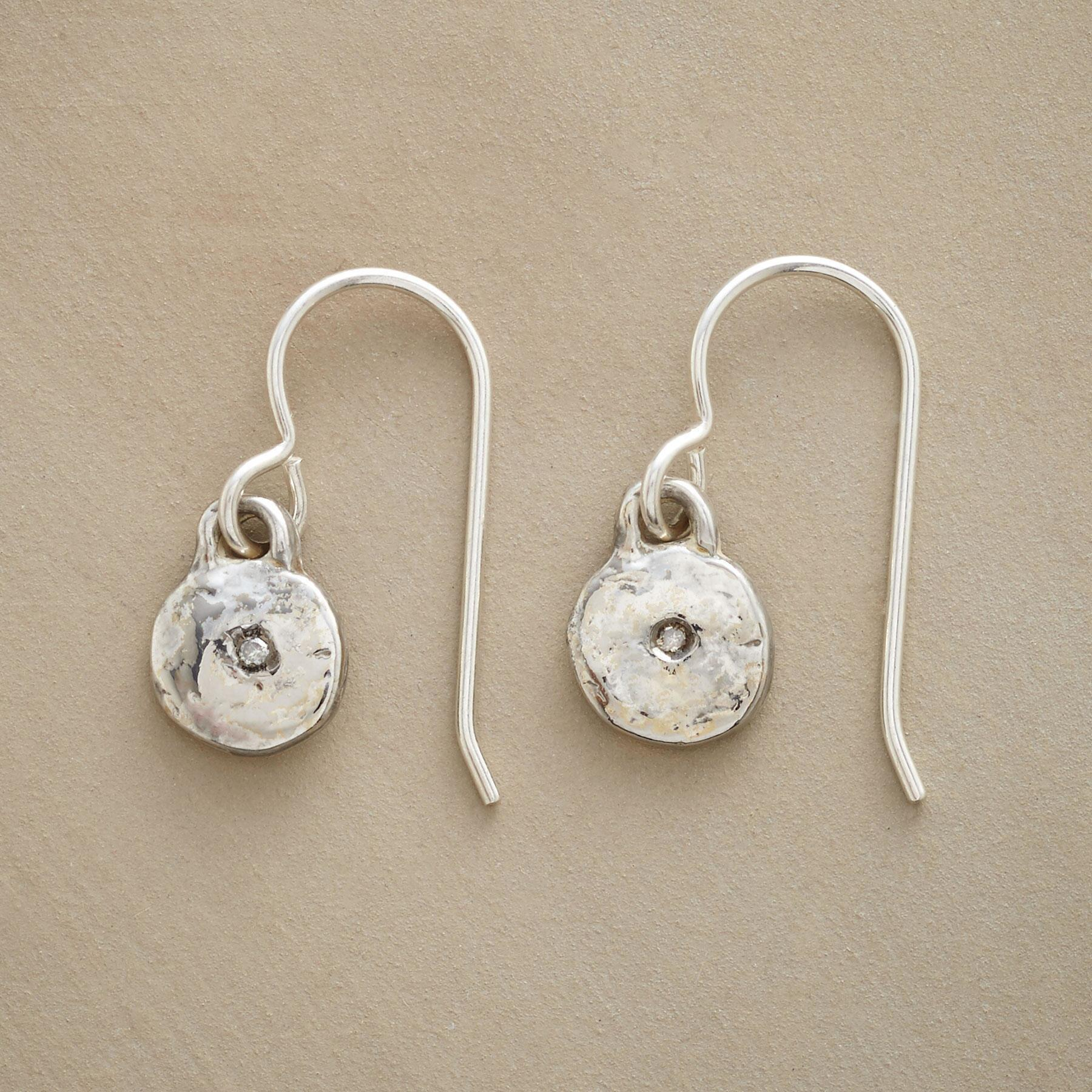 STERLING SILVER LITTLE BIT EARRINGS: View 1
