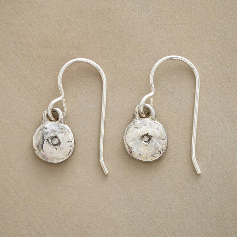 STERLING SILVER LITTLE BIT EARRINGS