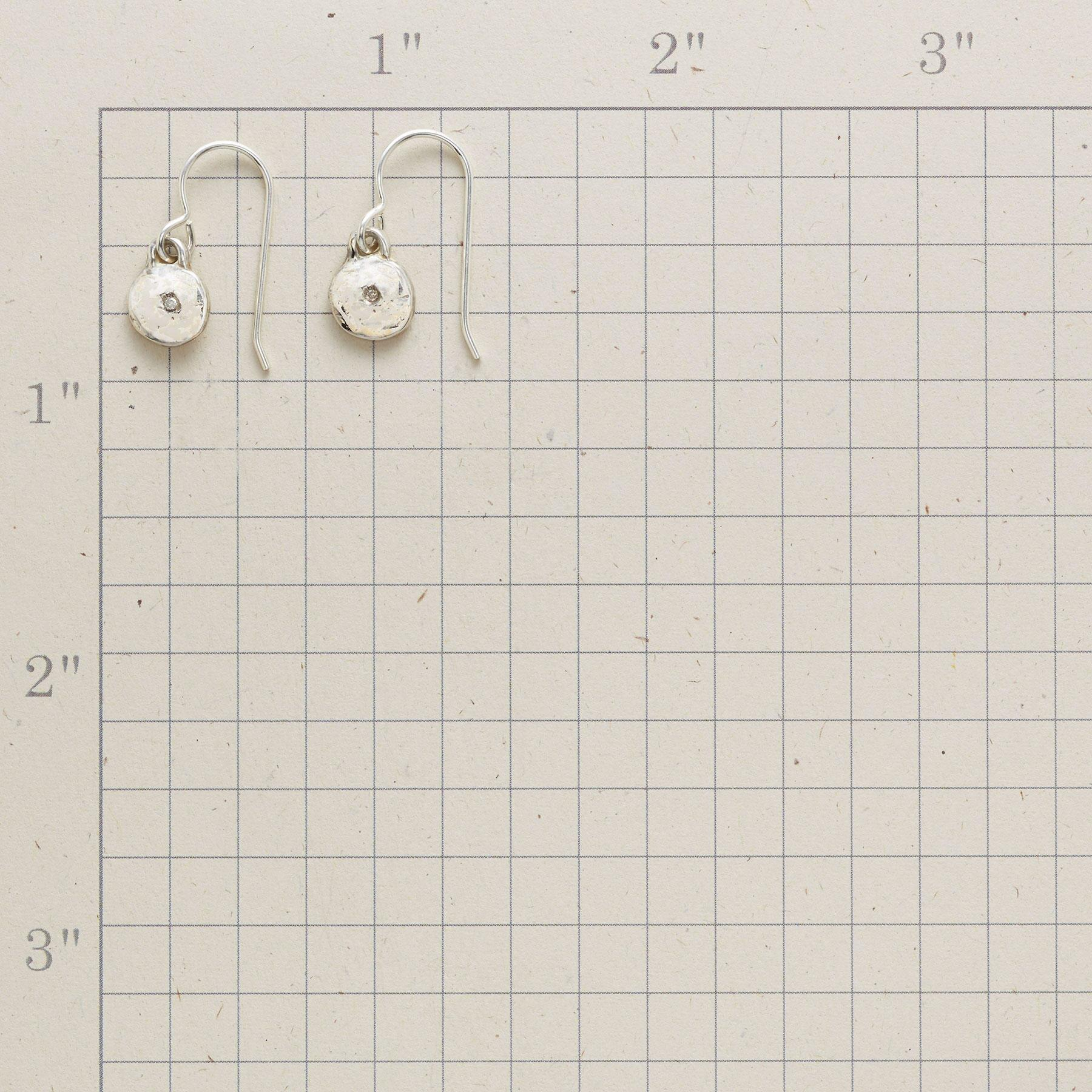 STERLING SILVER LITTLE BIT EARRINGS: View 2