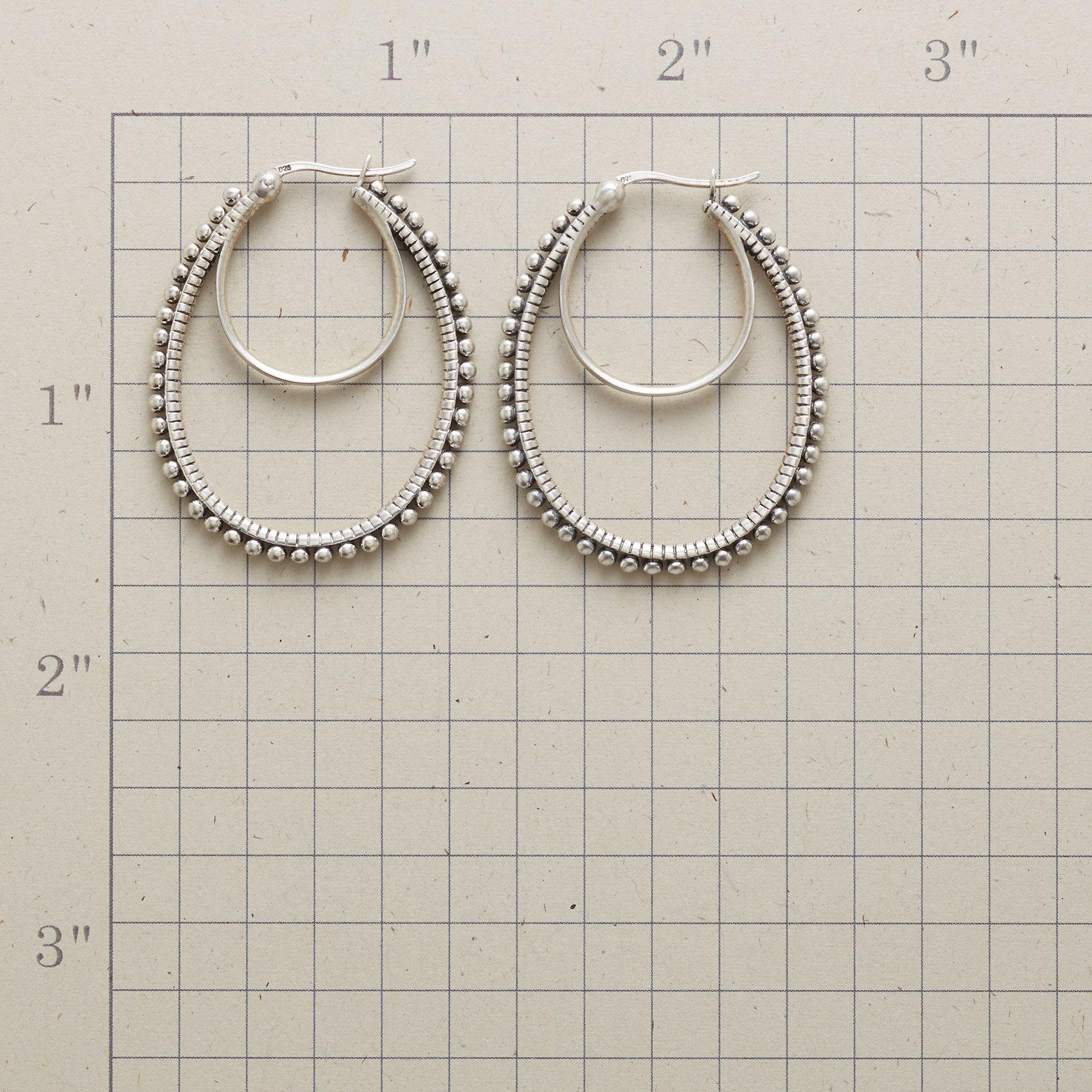 HOOPS ON THE DOUBLE EARRINGS: View 2