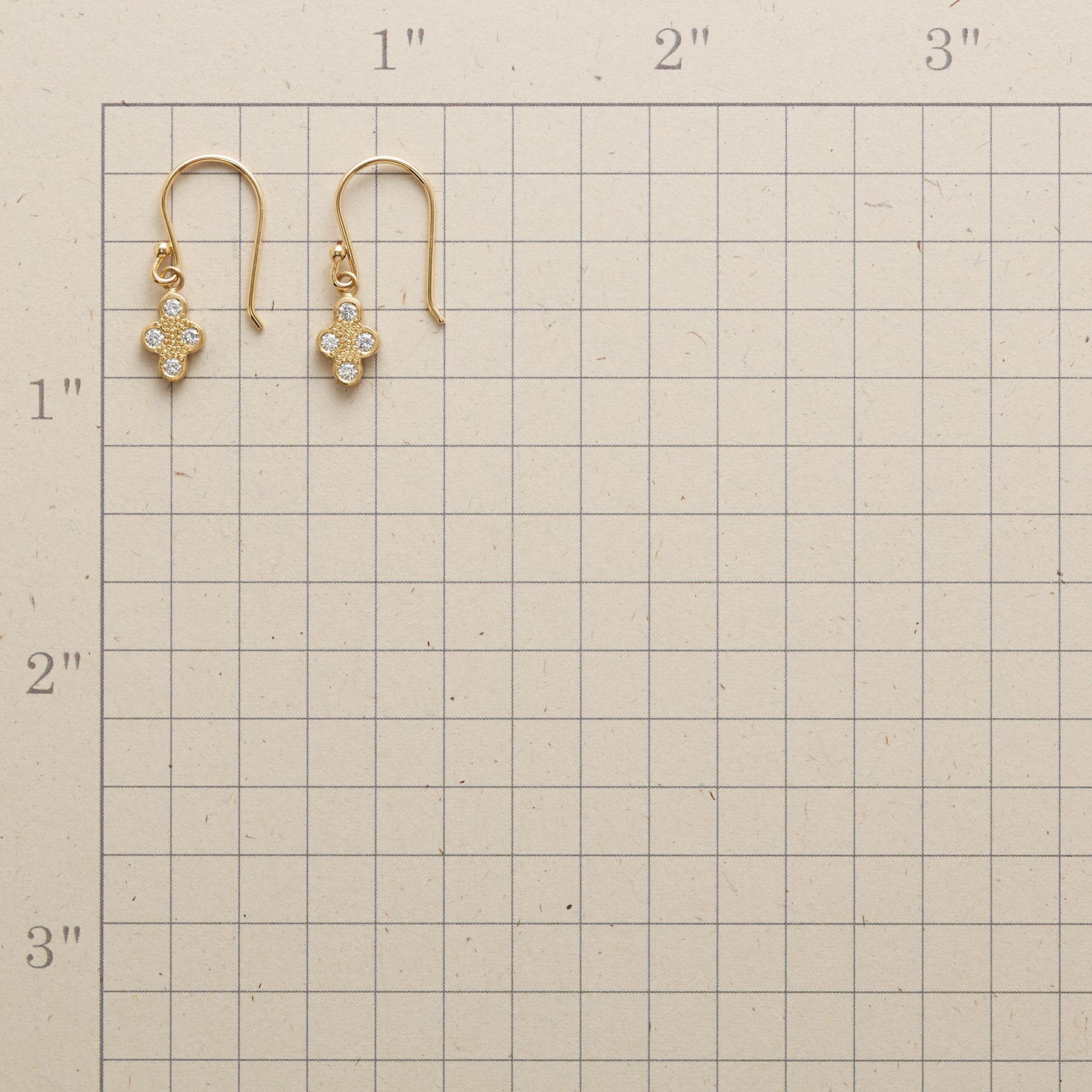 DIAMOND QUARTET EARRINGS: View 2