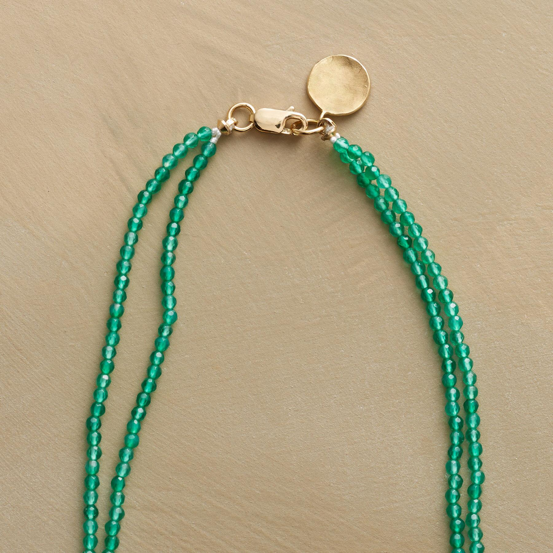 GREEN ONYX NECKLACE: View 3