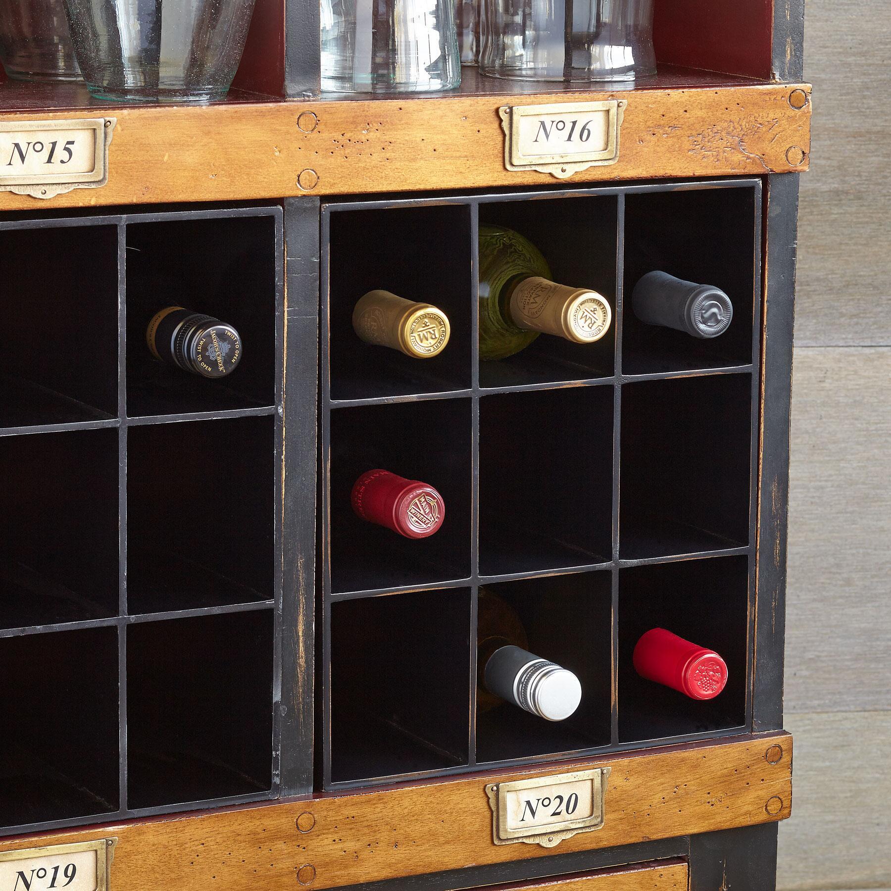DRAPER WINE CRATE: View 1