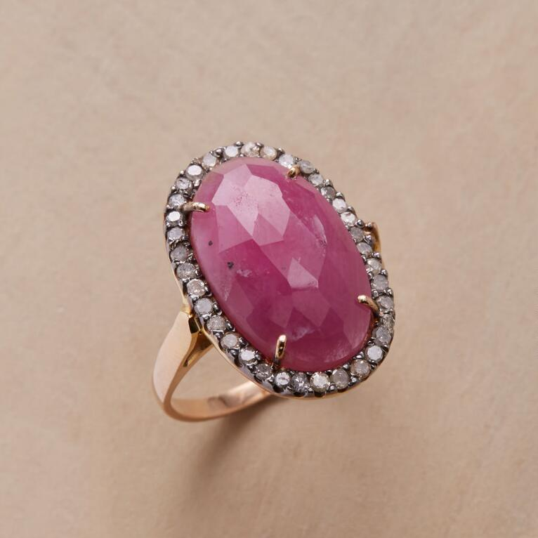 DOME AND DIAMONDS RING