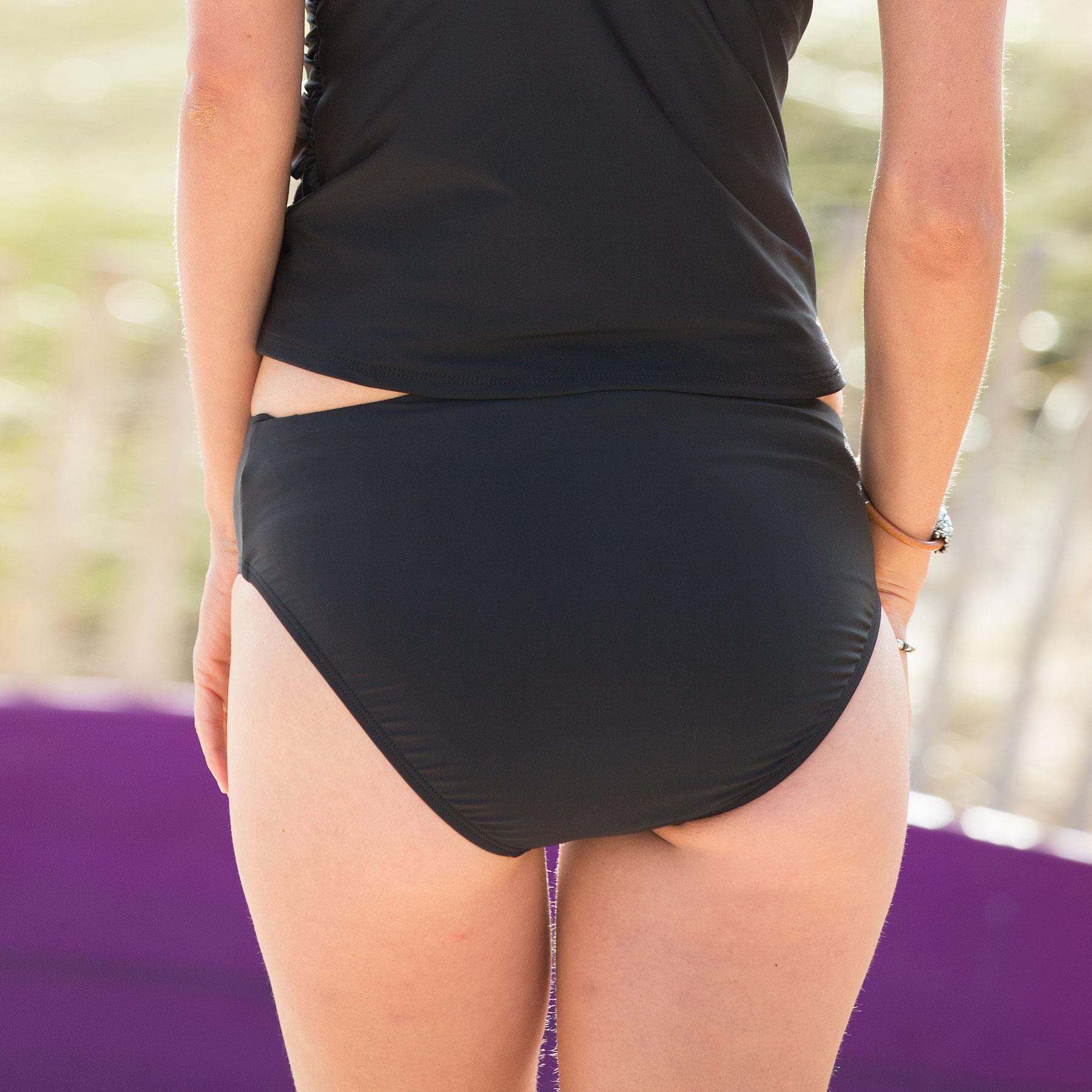 ECO RUCHED TANKINI BOTTOM: View 2