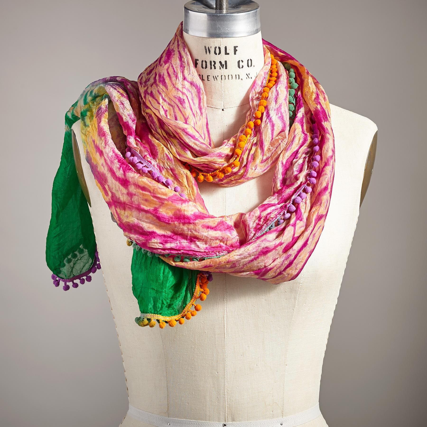MYSTIC FOREST SCARF: View 1