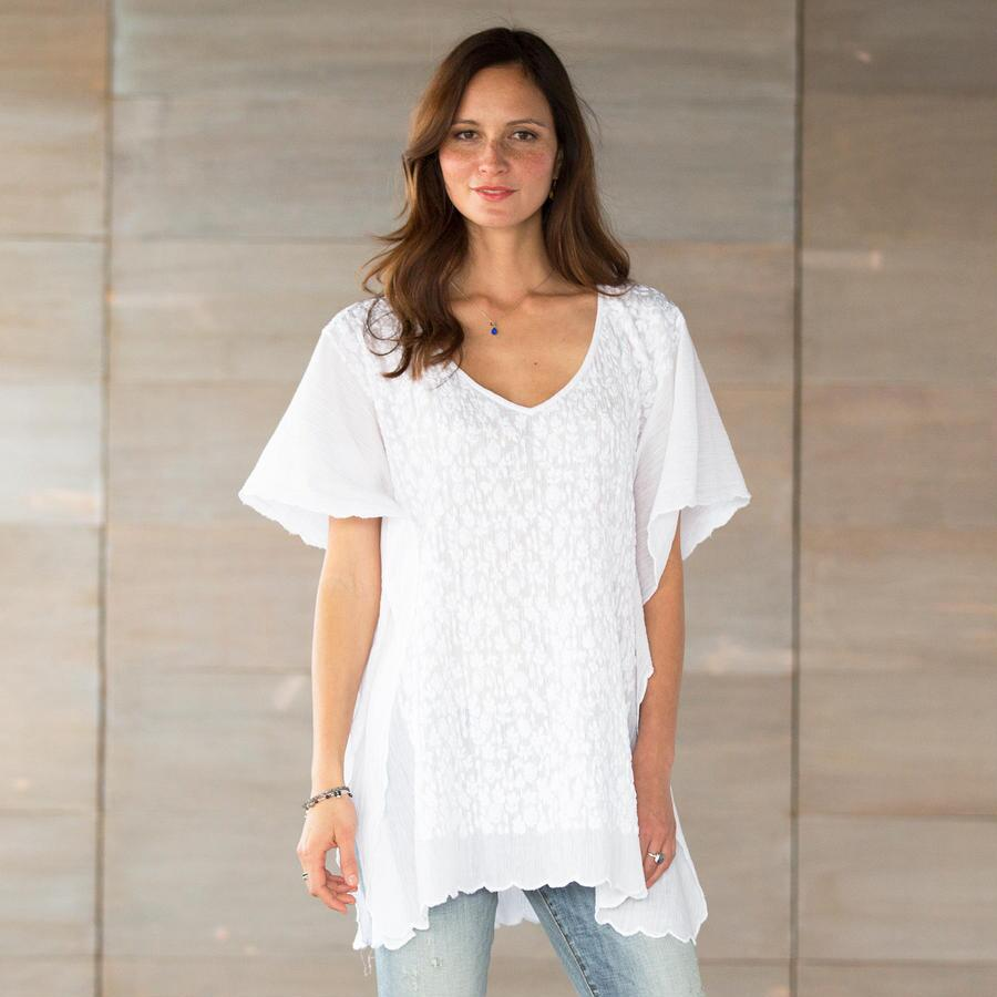 CLOUD BLOSSOMS TUNIC