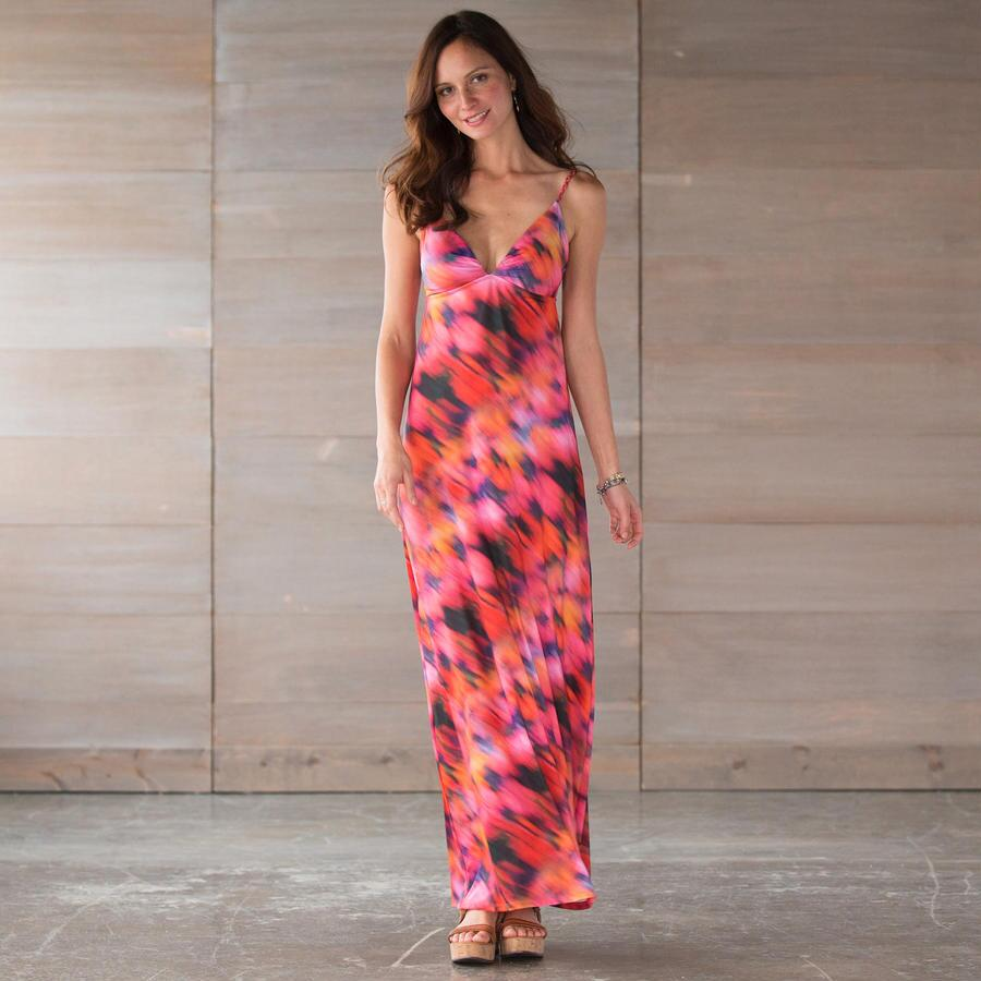 HELEN JON GYPSY DRESS ELLE PRINT