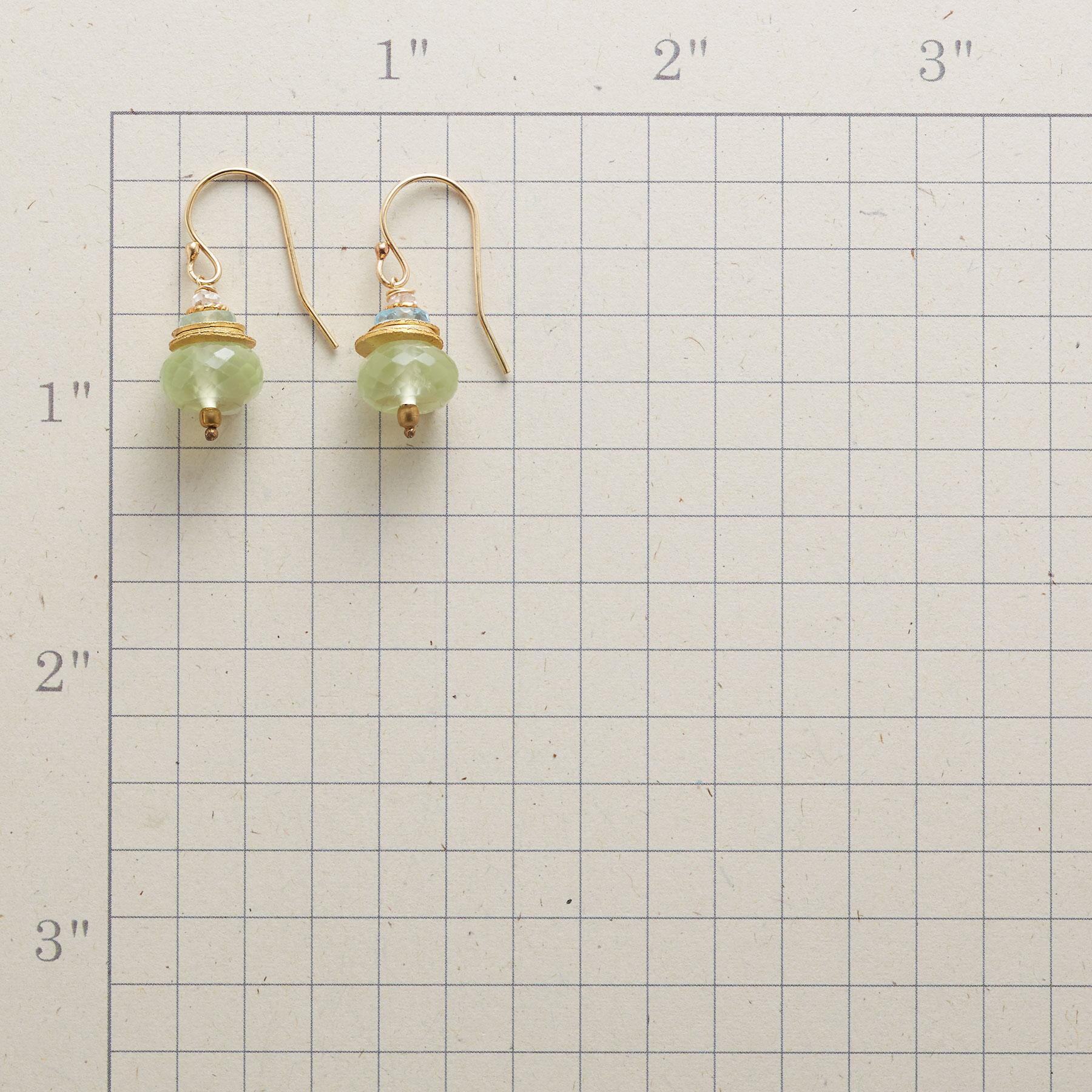 PREHNITE TUFFET EARRINGS: View 2