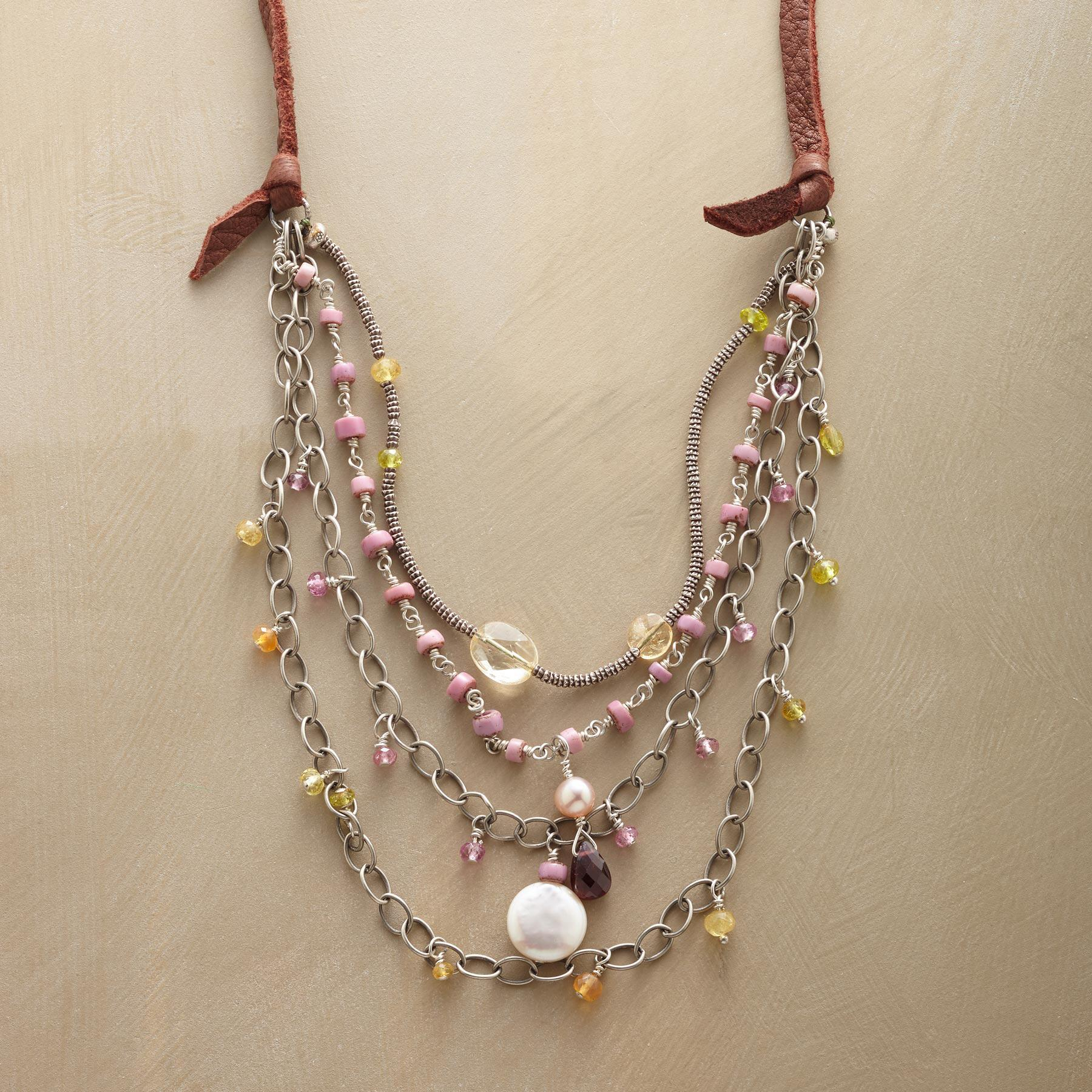 RITES OF SPRING NECKLACE: View 1