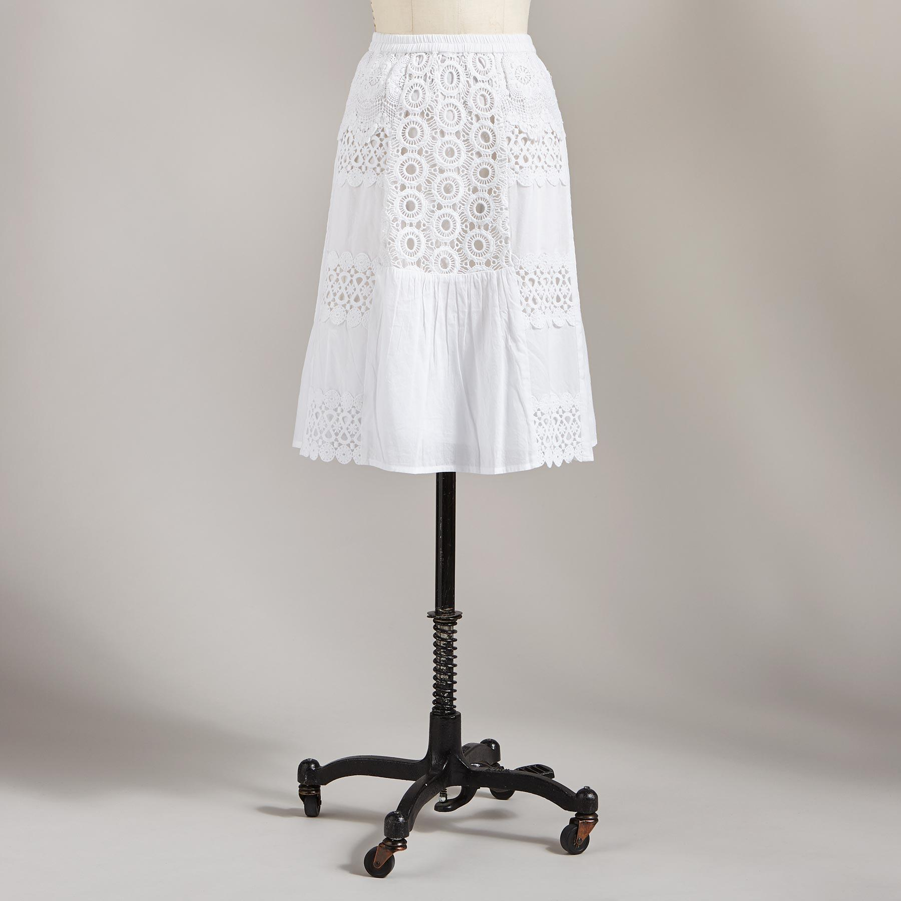 VINTAGE PATCH SKIRT: View 2