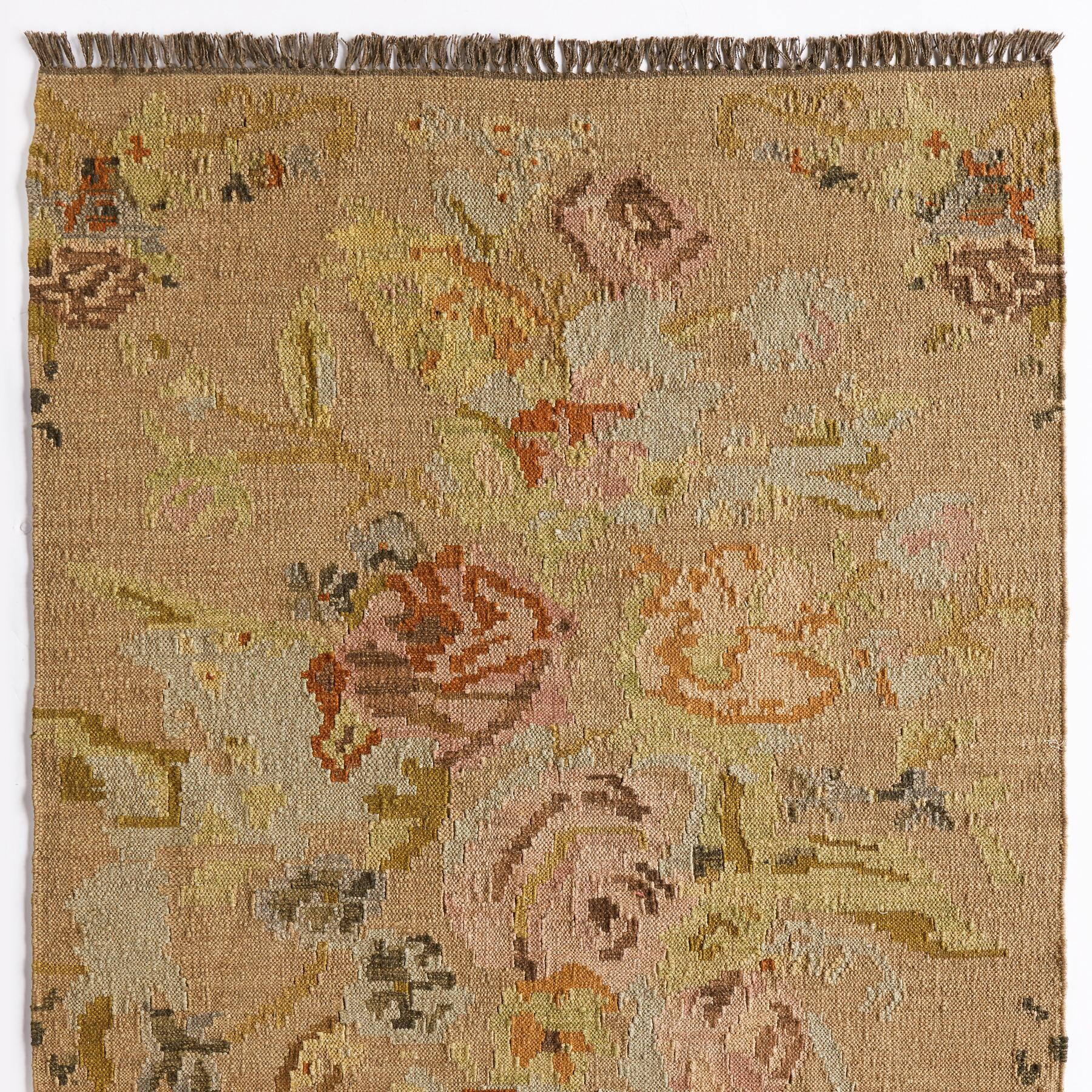 ANTIQUE ROSES KILIM RUG, LARGE: View 1
