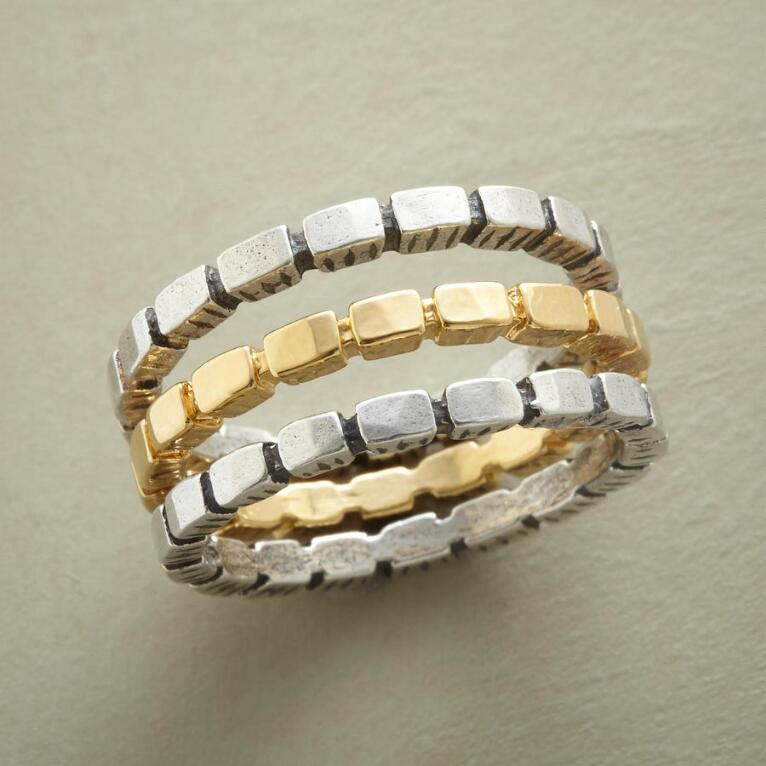 YELLOW BRICK ROAD RINGS S/3
