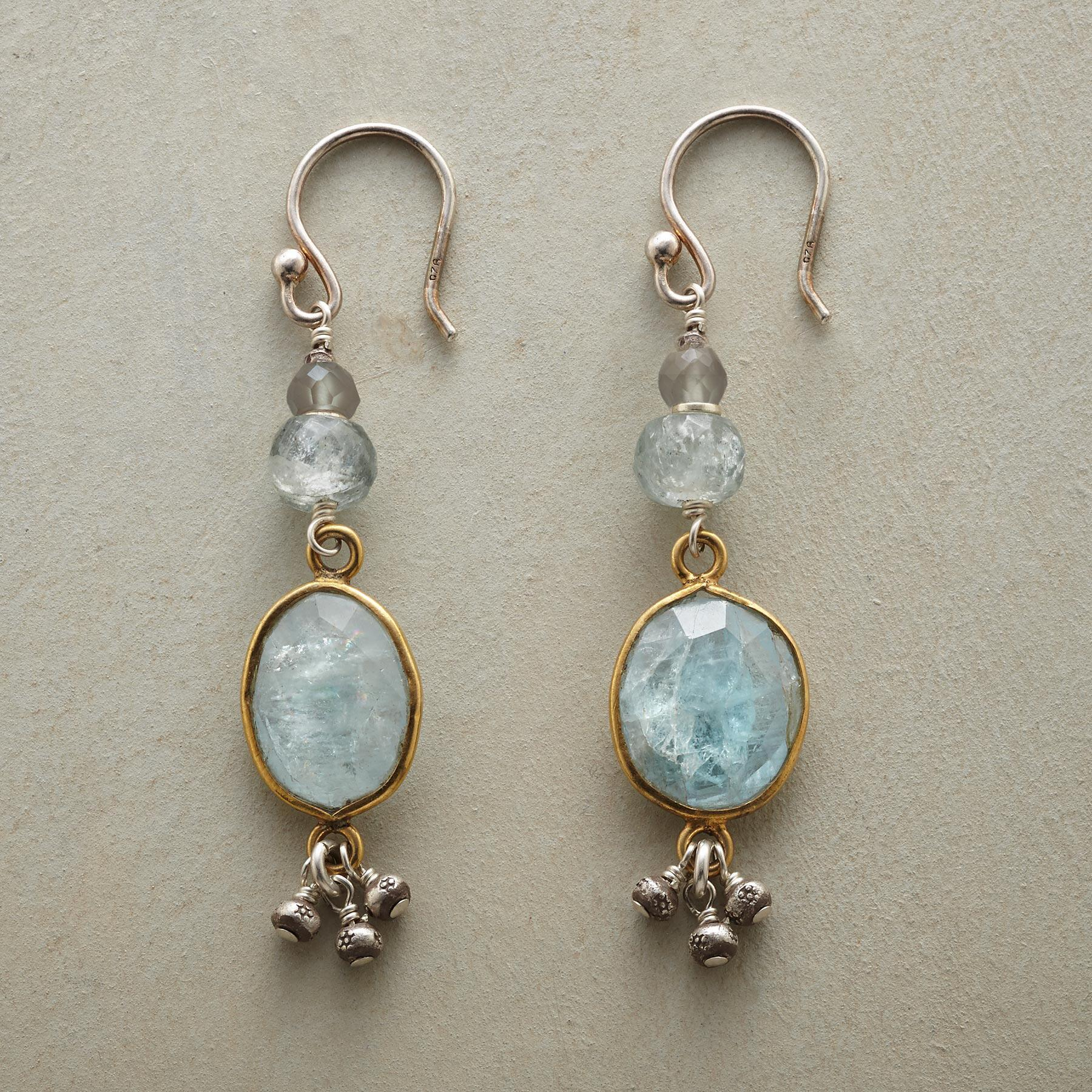 AQUA GIRL EARRINGS: View 1
