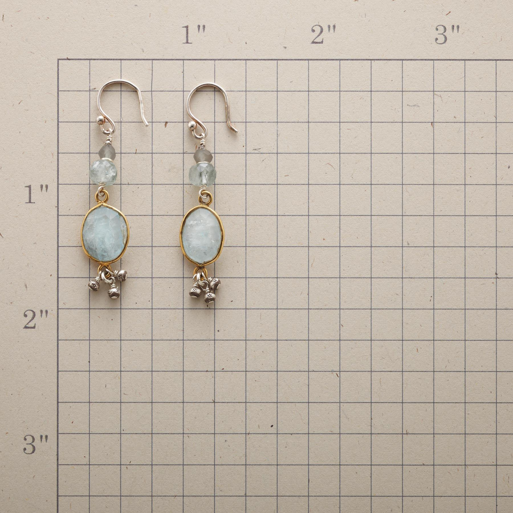 AQUA GIRL EARRINGS: View 2