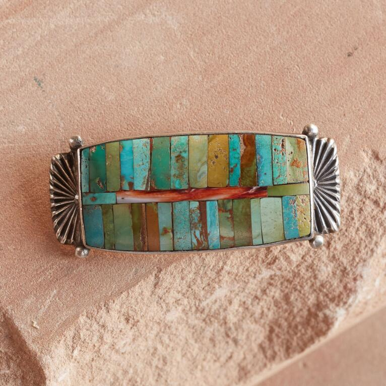 SUNRISE ZUNI INLAY PIN