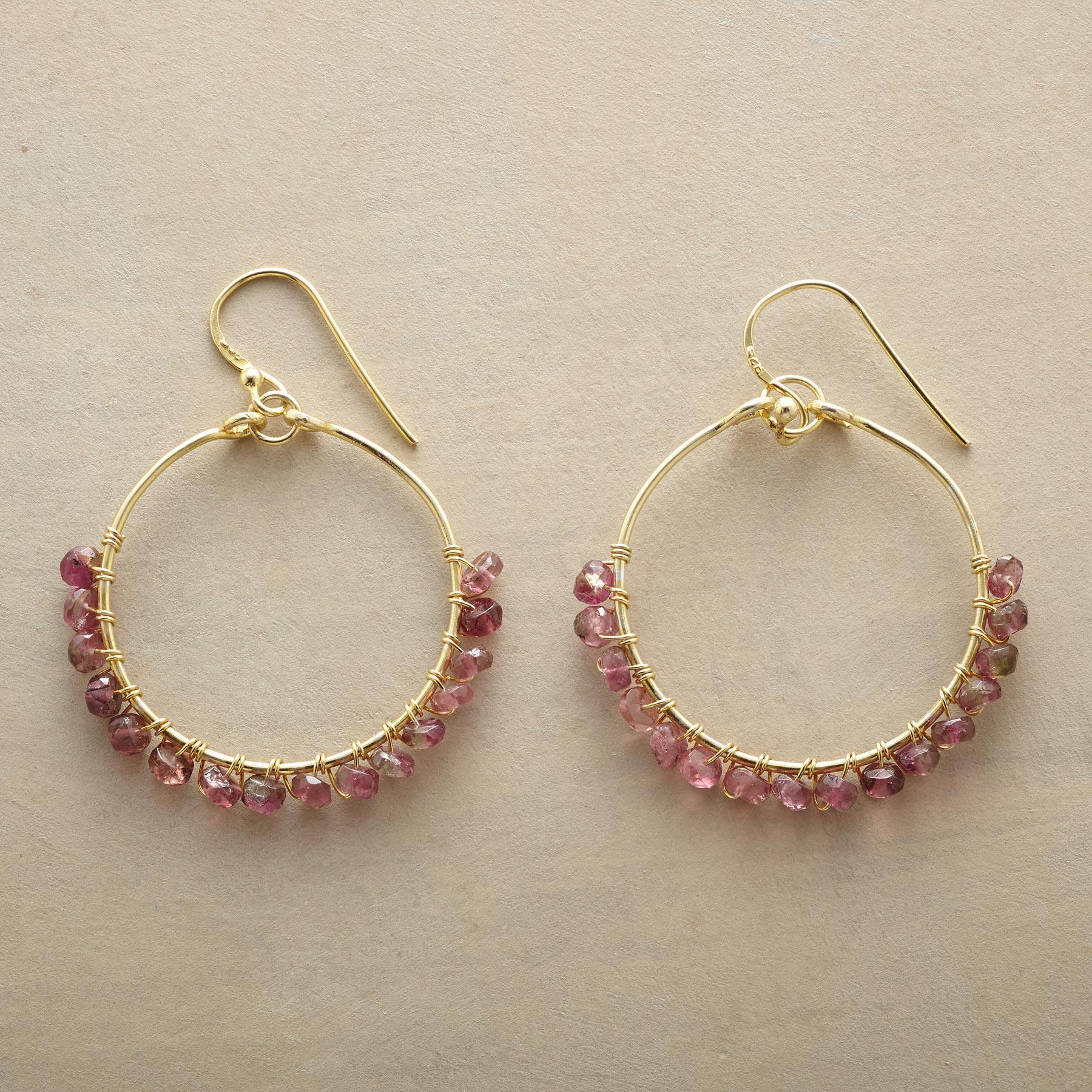 PARADE OF PINK EARRINGS: View 1