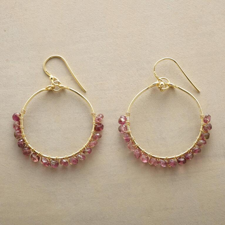 PARADE OF PINK EARRINGS