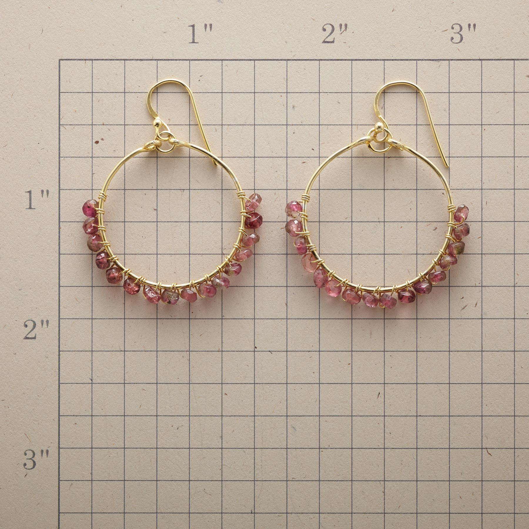 PARADE OF PINK EARRINGS: View 2