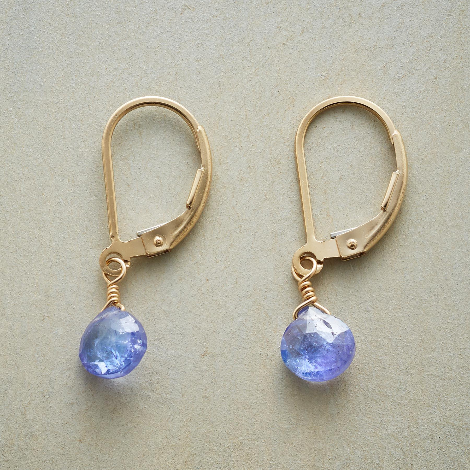 BEWITCHING BLUE EARRINGS: View 1