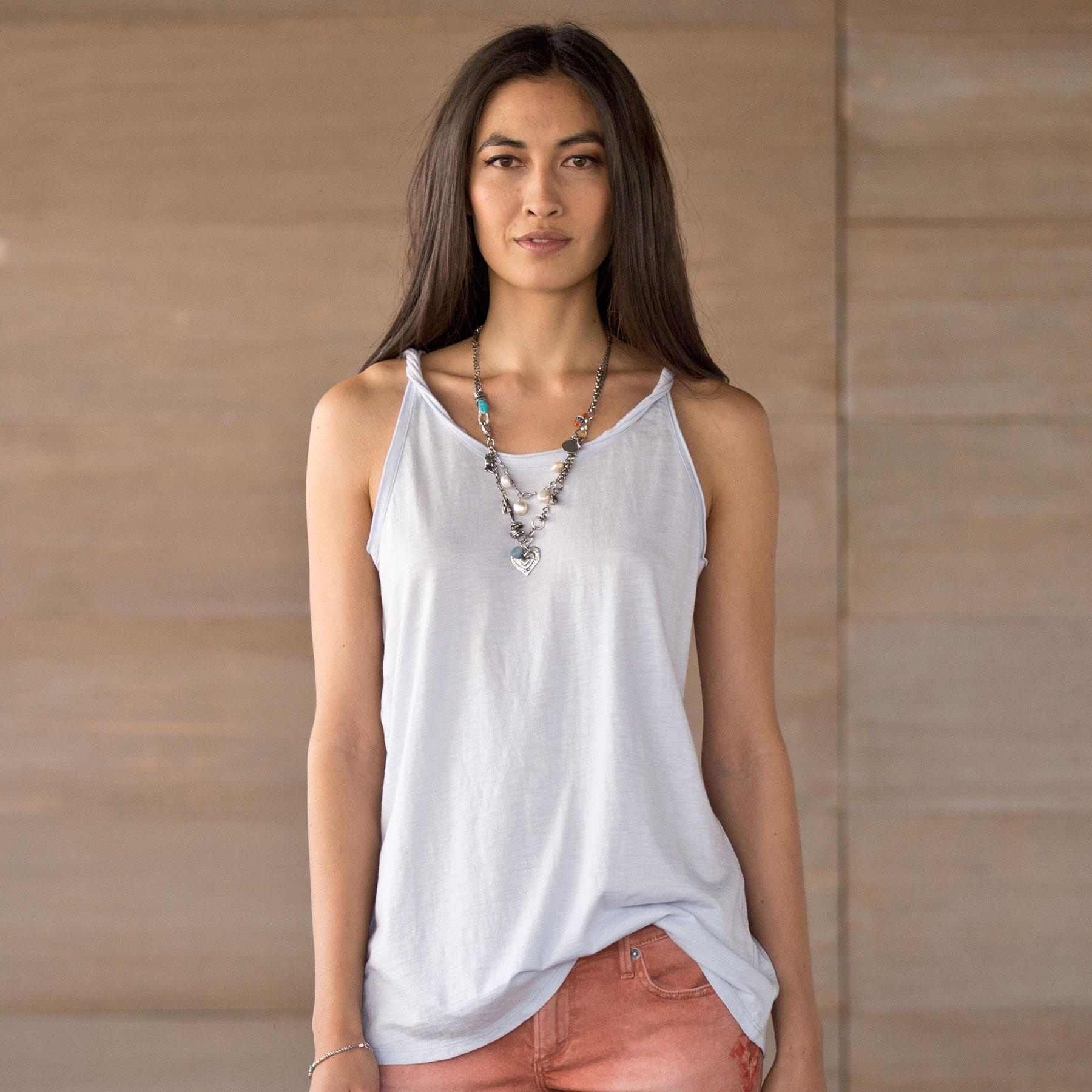 CHASER TWISTED STRAP TANK: View 1
