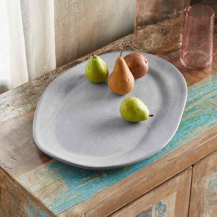 ALEX MARSHALL ORGANIC OVAL SERVING PLATTER