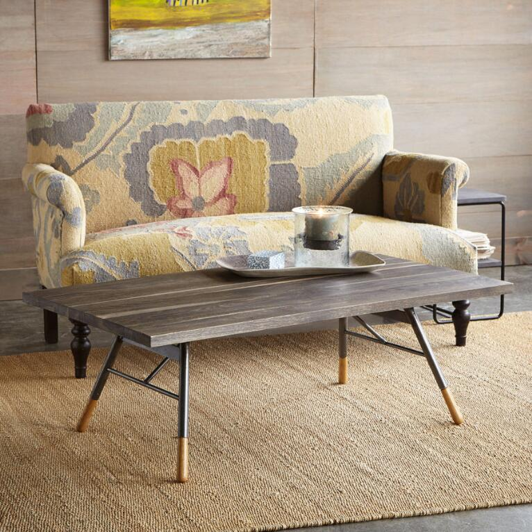PENNSYLVANIA DUTCH RECTANGLE COFFEE TABLE