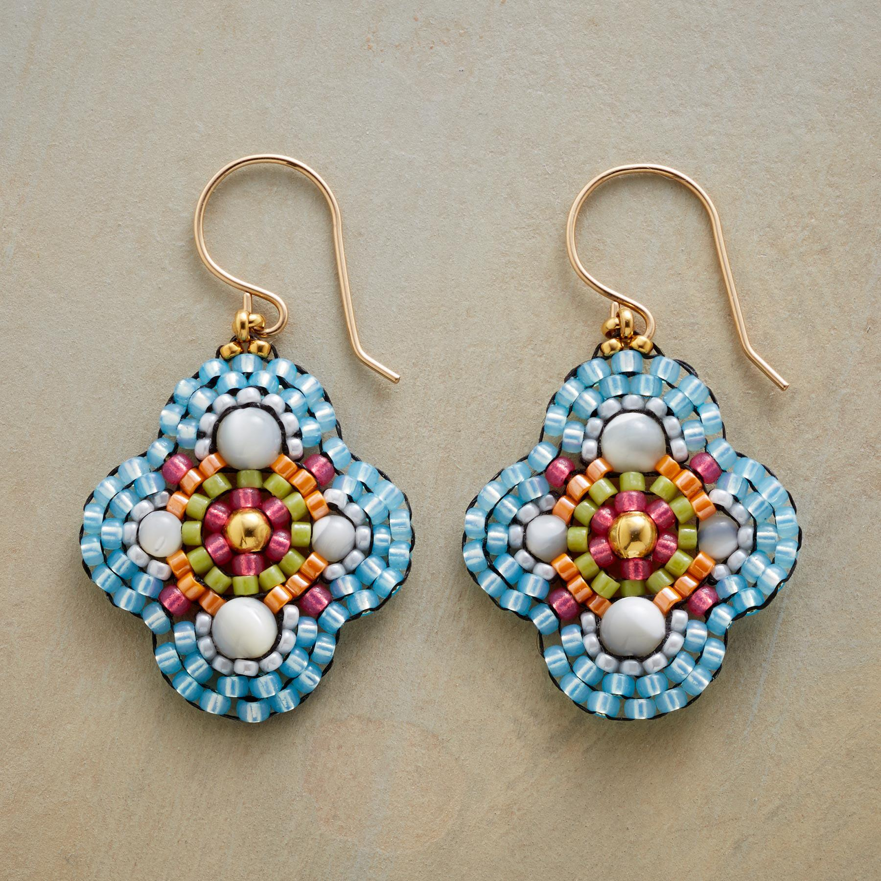 QUATREFOIL EARRINGS: View 1