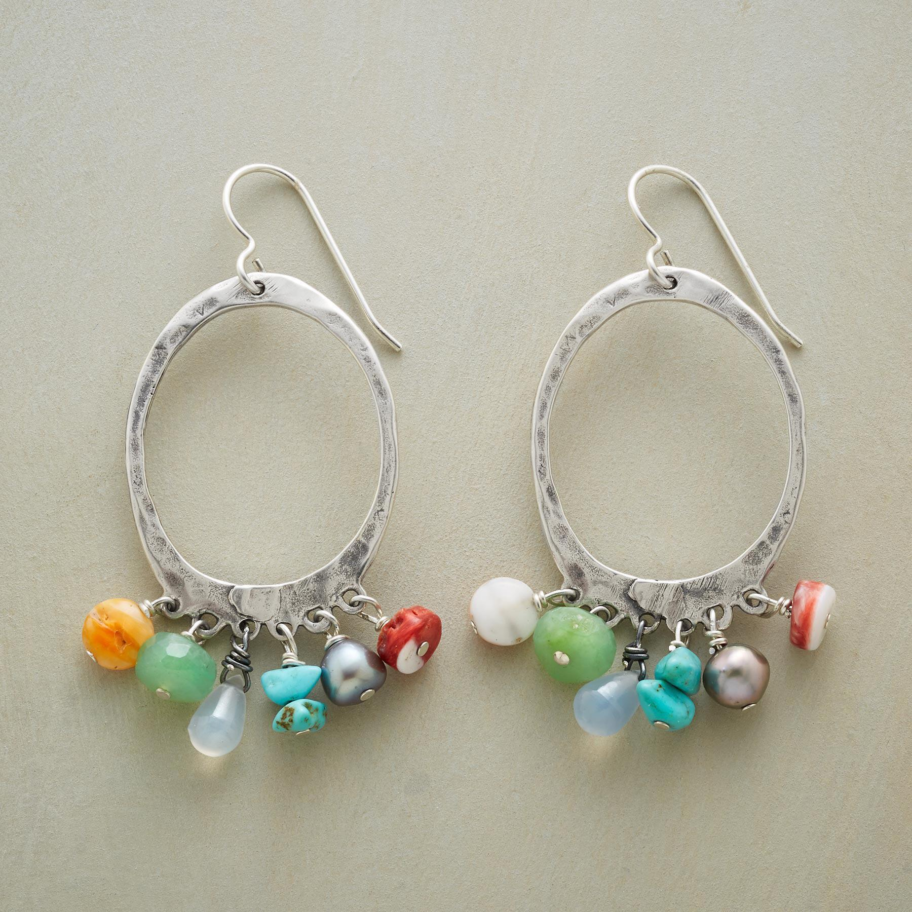 HARMONIC HOOP EARRINGS: View 1